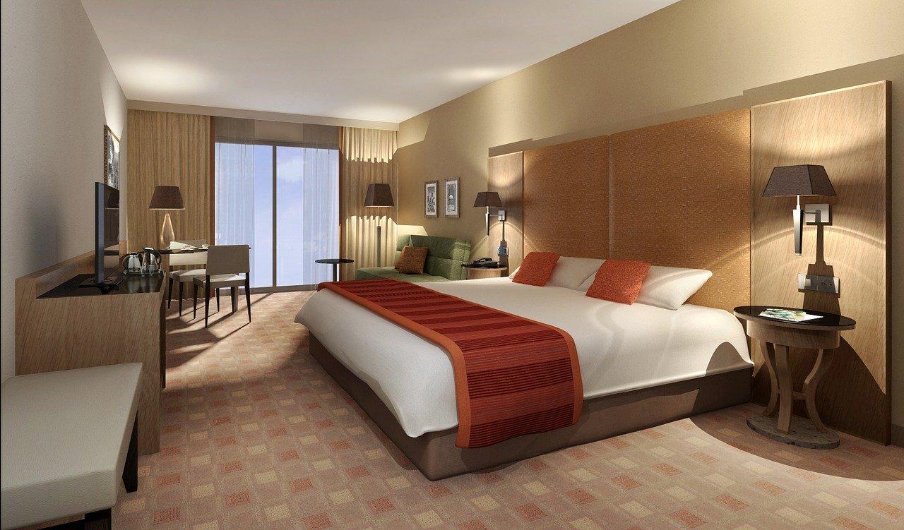Hospitality Industry Statistics - hotel room
